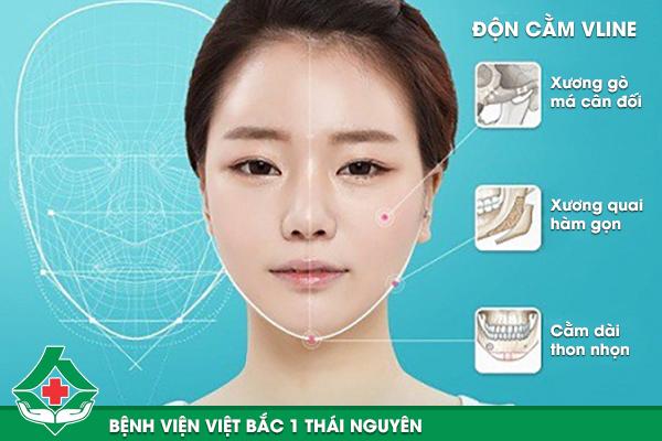 Độn cằm Vline ứng dụng công nghệ Vectra XT 3D