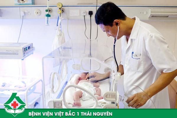 Các bé được chăm sóc tận tình tại bệnh viện Việt Bắc 1