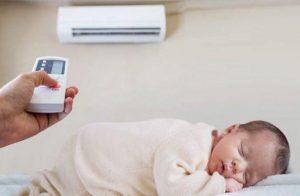 Sử dụng điều hòa cho trẻ sơ sinh như thế nào hợp lý? thumbnail